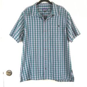 Patagonia Short Sleeve Button Down Top